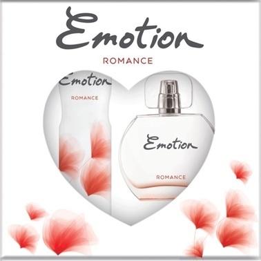 Emotion  Romance Edt 50Ml+Deo150Ml Kadın Parfüm Set Renksiz